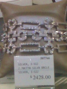 Diamond Bracelet at Sam's Club