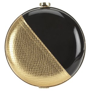 Nine West grecian minaudiere clutch